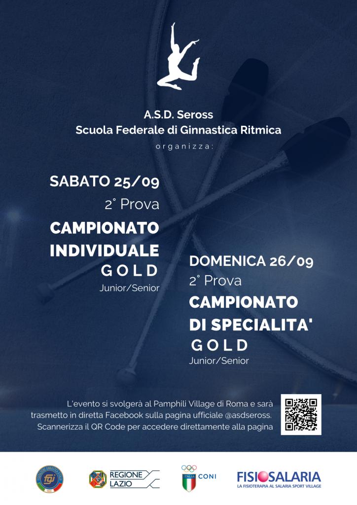 campionato specialita individuale gold ginnastica ritmica roma